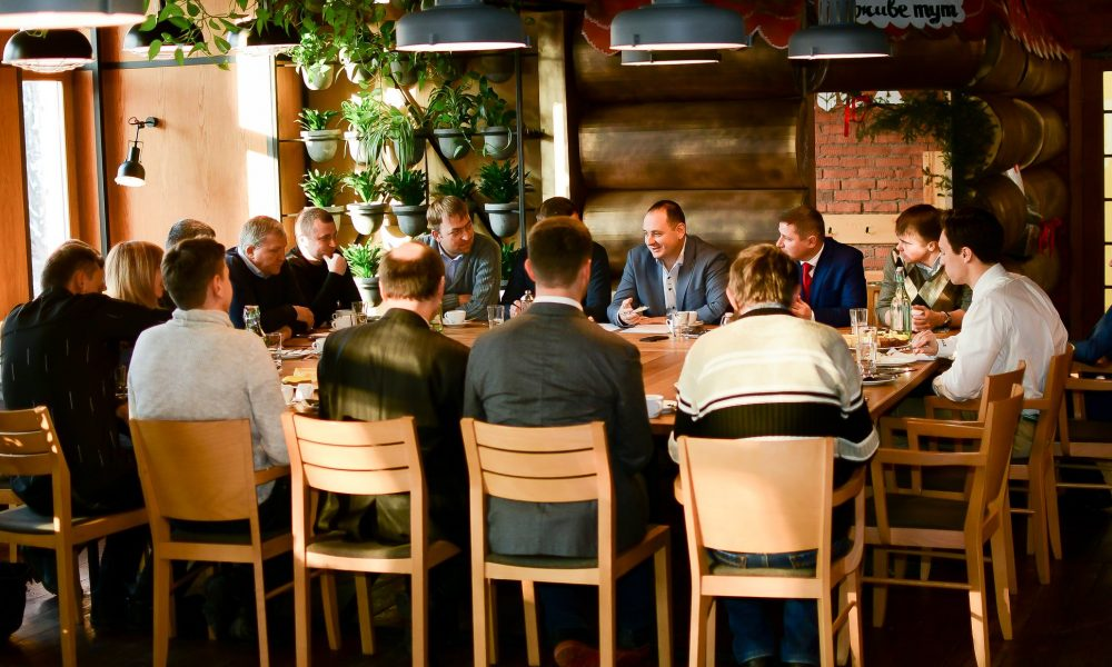Business Breakfast of PEEC with Mayor Ruslan Martsinkiv